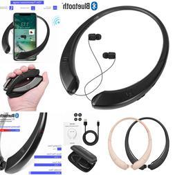 Foldable Retractable Bluetooth Headset Headphone Wireless Sp