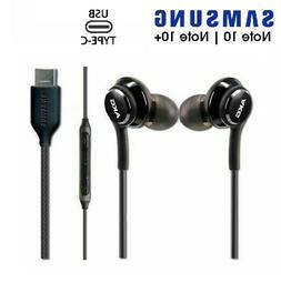 Samsung Galaxy Note 10 AKG USB-C Headphones Wired Type C Ear