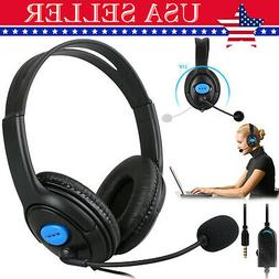 Gaming Headsets Stereo Surround Headphones Wired Earbuds For