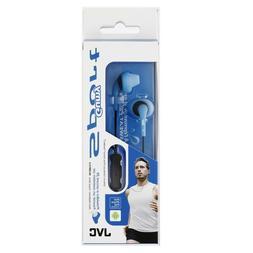 JVC HA-ENR15 Blue Gumy Sport Ear Bud with Mic / Remote HAENR