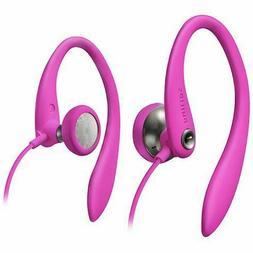 Philips Pink In-ear Earhook Earbud Earphones Earpods Headpho