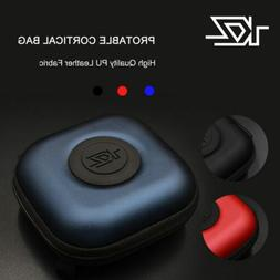 KZ Headset Earphones Boxes PU Data Cable Storage Earbuds For