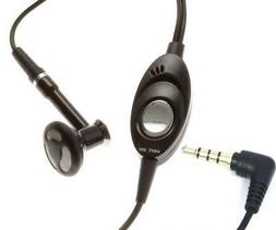 HEADSET MONO 3.5MM HANDSFREE SINGLE EARBUD WIRED E4A for AT&
