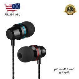 Super Bass Headset 3.5mm In-Ear Earphone Stereo Earbuds Head