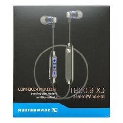 Hot Sennheiser CX 6.00BT Bluetooth Wireless Earbud In-Ear Ea