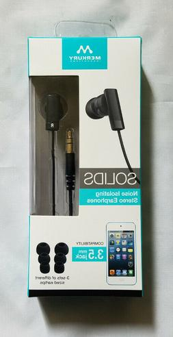 innovations solids noise isolating stereo earphones 3