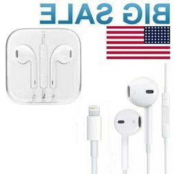 Headphones Earbuds Earphones  For Apple iPhone 6 7 8 Plus X