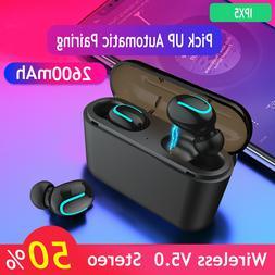 For iPhone 11 Pro Max X/XS/XR/8/7/6 Plus TWS Earphone Wirele