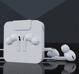 For iPhone 7 8 Plus iPhone X Xr 11 12 PRo Wired Headphones H