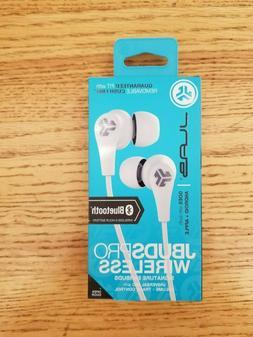 JLab JBuds Pro Signature Wireless Bluetooth Earbuds White Ne