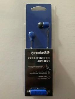 Skullcandy JIB Noise Isolating In-Ear Earbud w/Mic S2DUYK BL