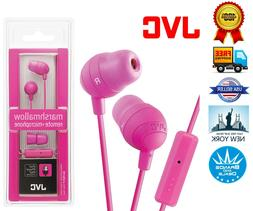 JVC Marshmallow HA-FX32 Earphone - Stereo - Pink - Mini-phon