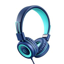 Kids Headphones - noot products K11 Foldable Stereo Tangle-F