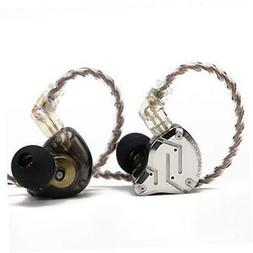 KZ ZS10 Pro, Linsoul 4BA+1DD 5 Driver in-Ear HiFi Metal With