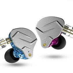 KZ ZSN Pro Headphones 1BA 1DD Over Ear Earbuds Yinyoo Wired