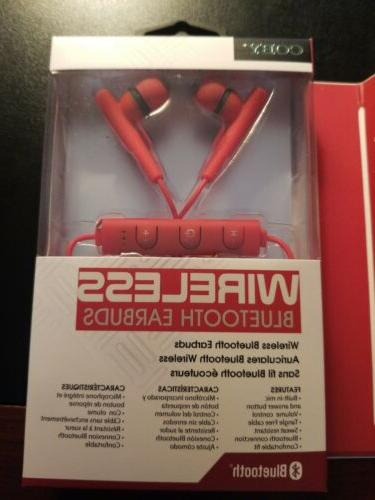 2-COBY CEBT405BLK SPORT EARBUDS & COMBO