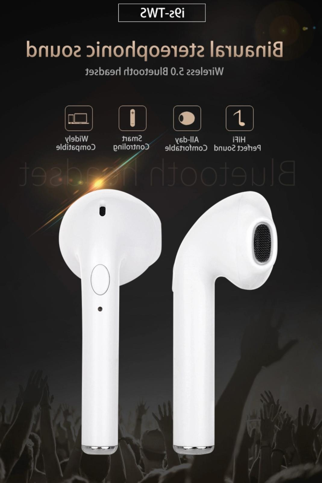2019 *NEW* Bluetooth Headphones Headset Charging Case Earbuds