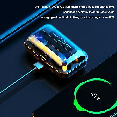 2020 TWS Bluetooth 5.0 Headset Earphones Mini Stereo