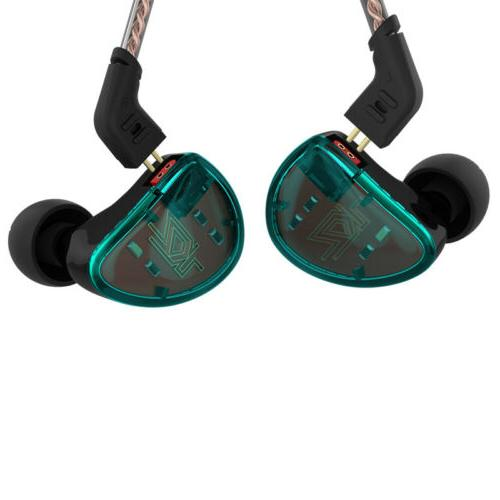 KZ AS10 5BA HiFi In-Ear Earphone Earbuds With / No Mic Five
