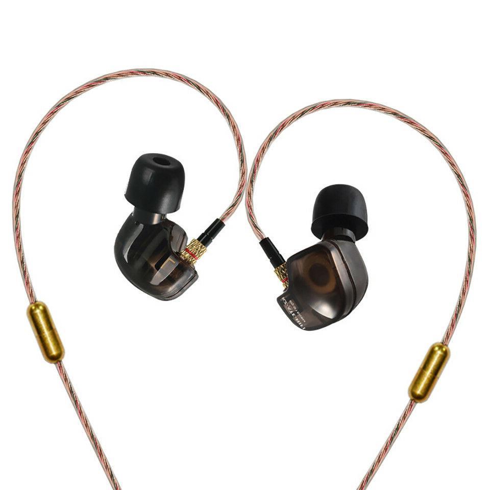 Original KZ-ATE Copper Driver HiFi Bass Sport Headphones In-