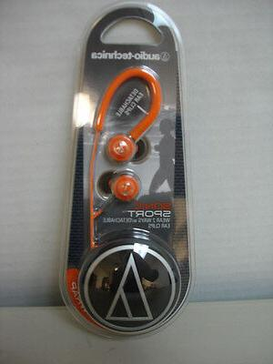 Audio-Technica Core Bass In-Ear Orange