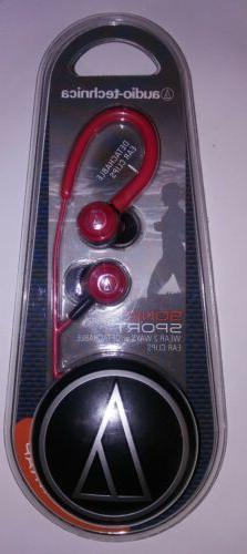 Audio-Technica Red Sonic Sport 2 Way Headphones ATH-COR150SP