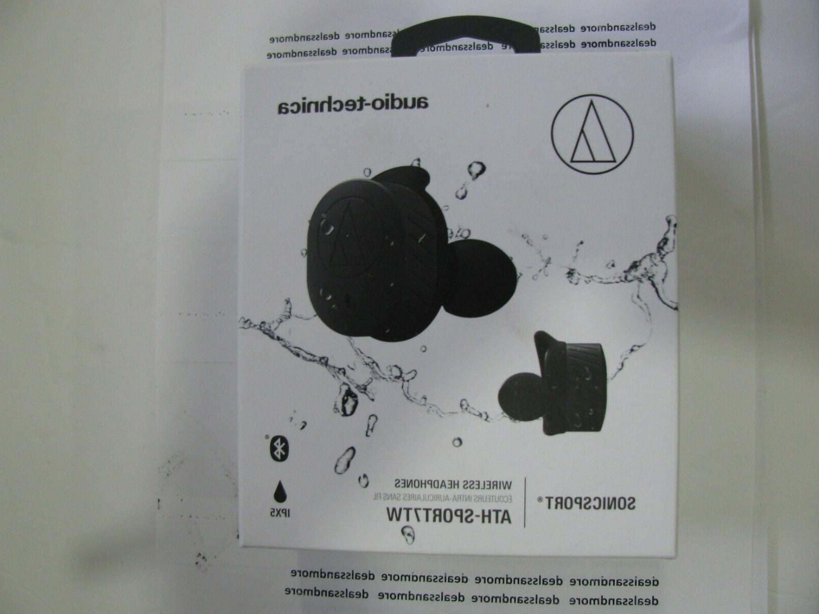 audio technica sonicsport true wireless sports earbuds