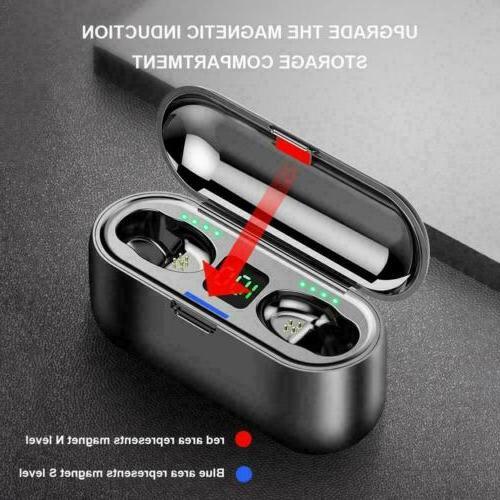Bluetooth Earphones TWS Bass Headphones