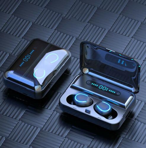 Bluetooth 5.0 Earbuds Earphones Bass in-Ear Headphones
