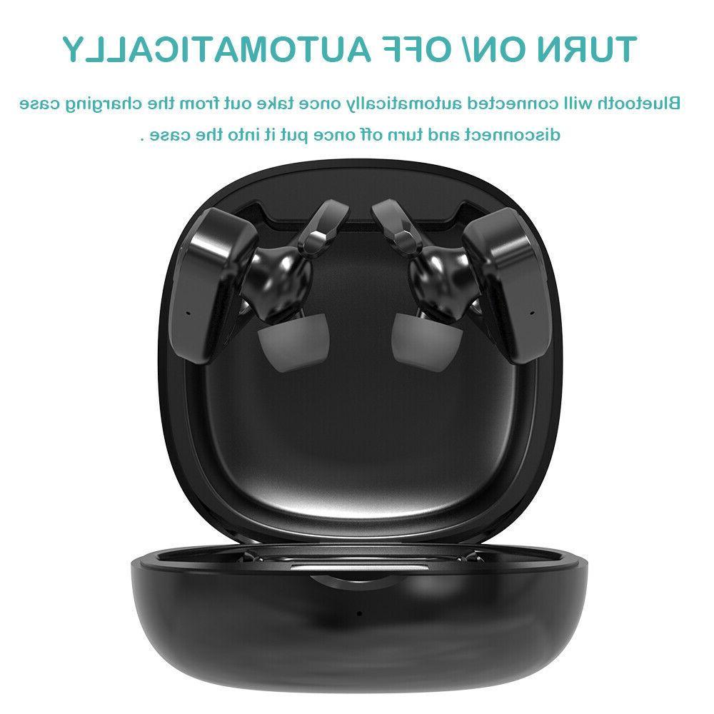 Bluetooth 5.0 Wireless Earbuds Stereo Headphones