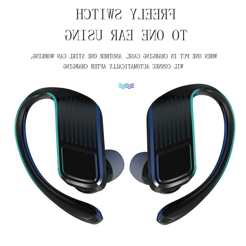 Bluetooth 5.0 Headset Headphones Hook