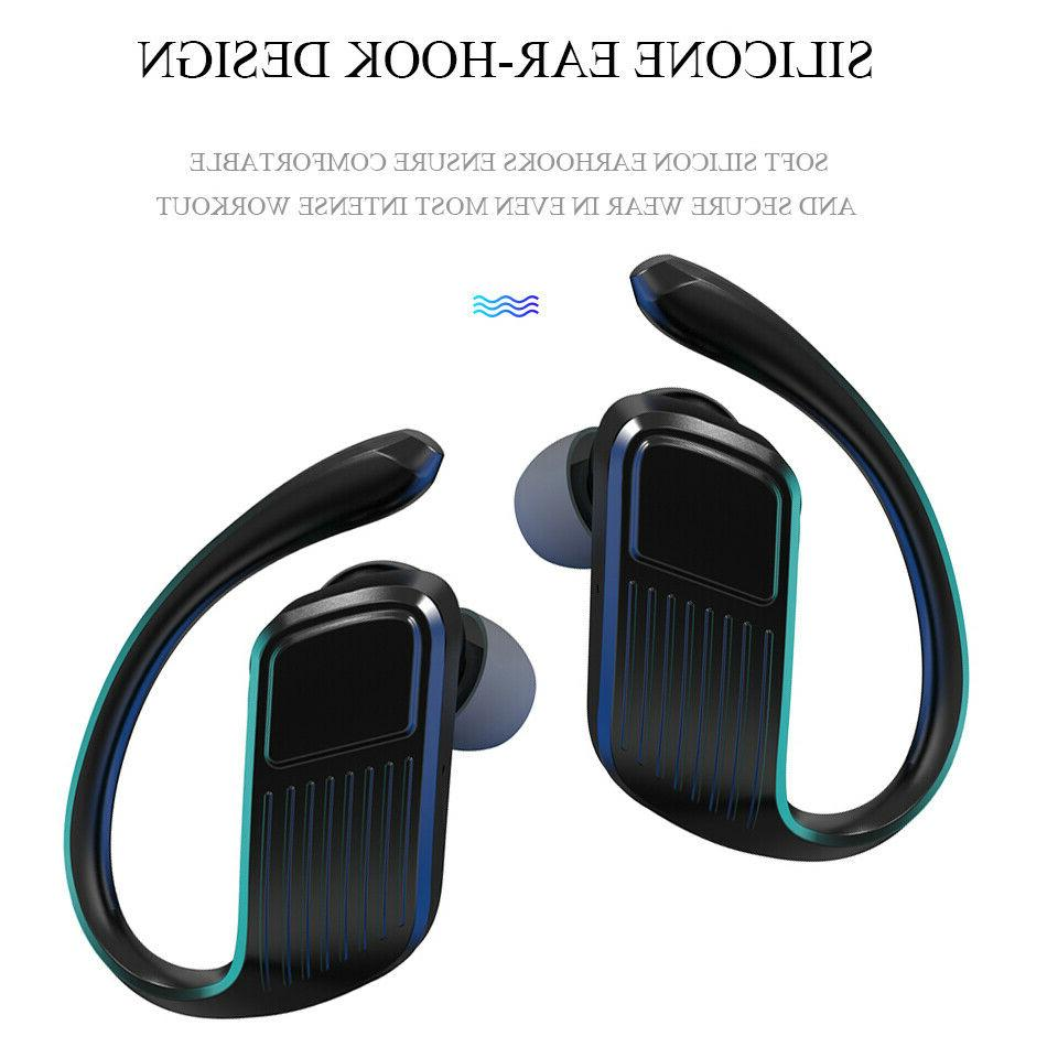 Bluetooth 5.0 Headset Wireless Earphones Earbuds Headphones Ear