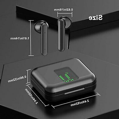 Bluetooth Headset Wireless Earphones Stereo Gym