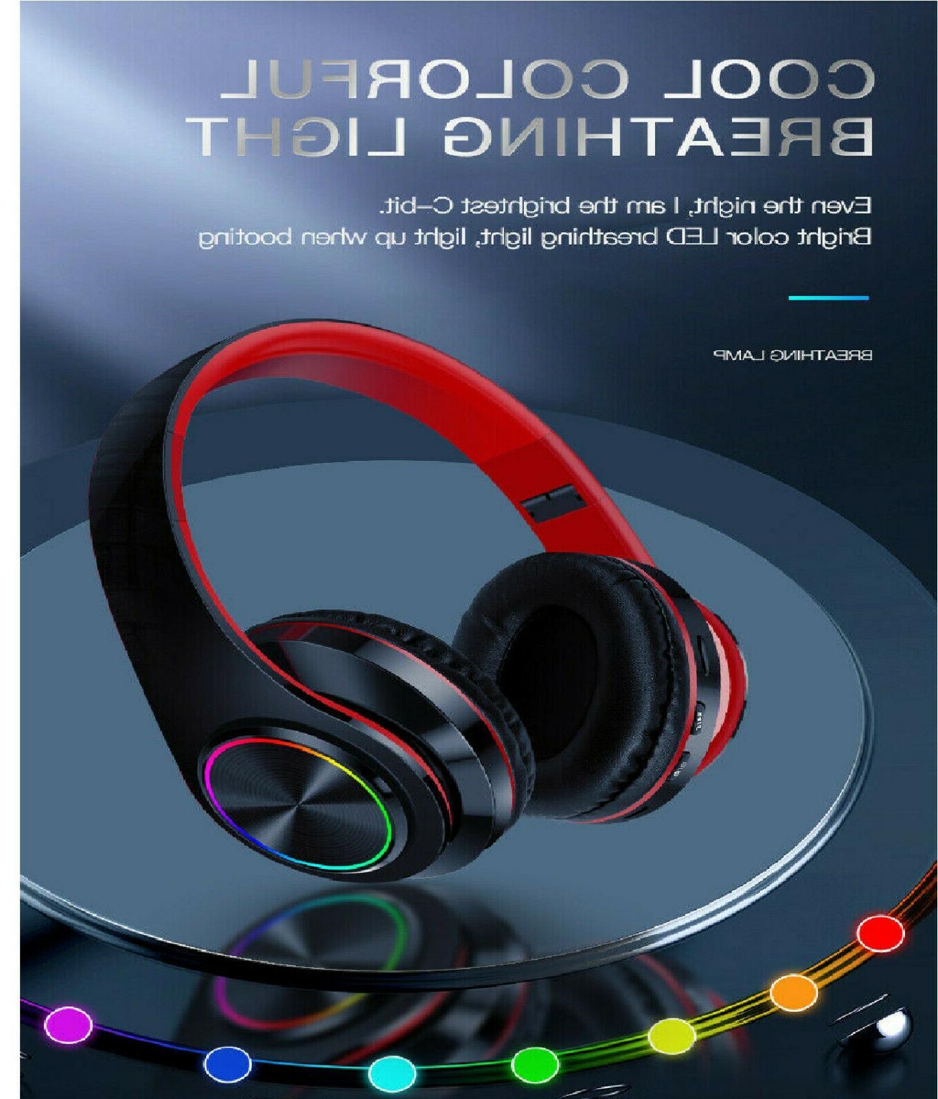 Bluetooth 5.0 Earphones Over Stereo