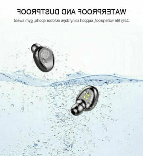 Bluetooth Wireless Earphones Twins Headset Headphone