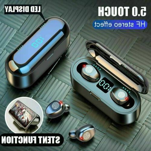 Bluetooth Earphones Twins Earbuds Headset