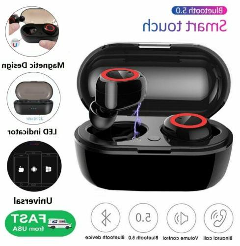 bluetooth 5 0 wireless earbuds earphone in