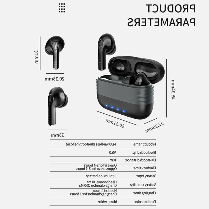 Bluetooth Earbuds for Samsung Android Wireless Earphone WaterProof IPX7