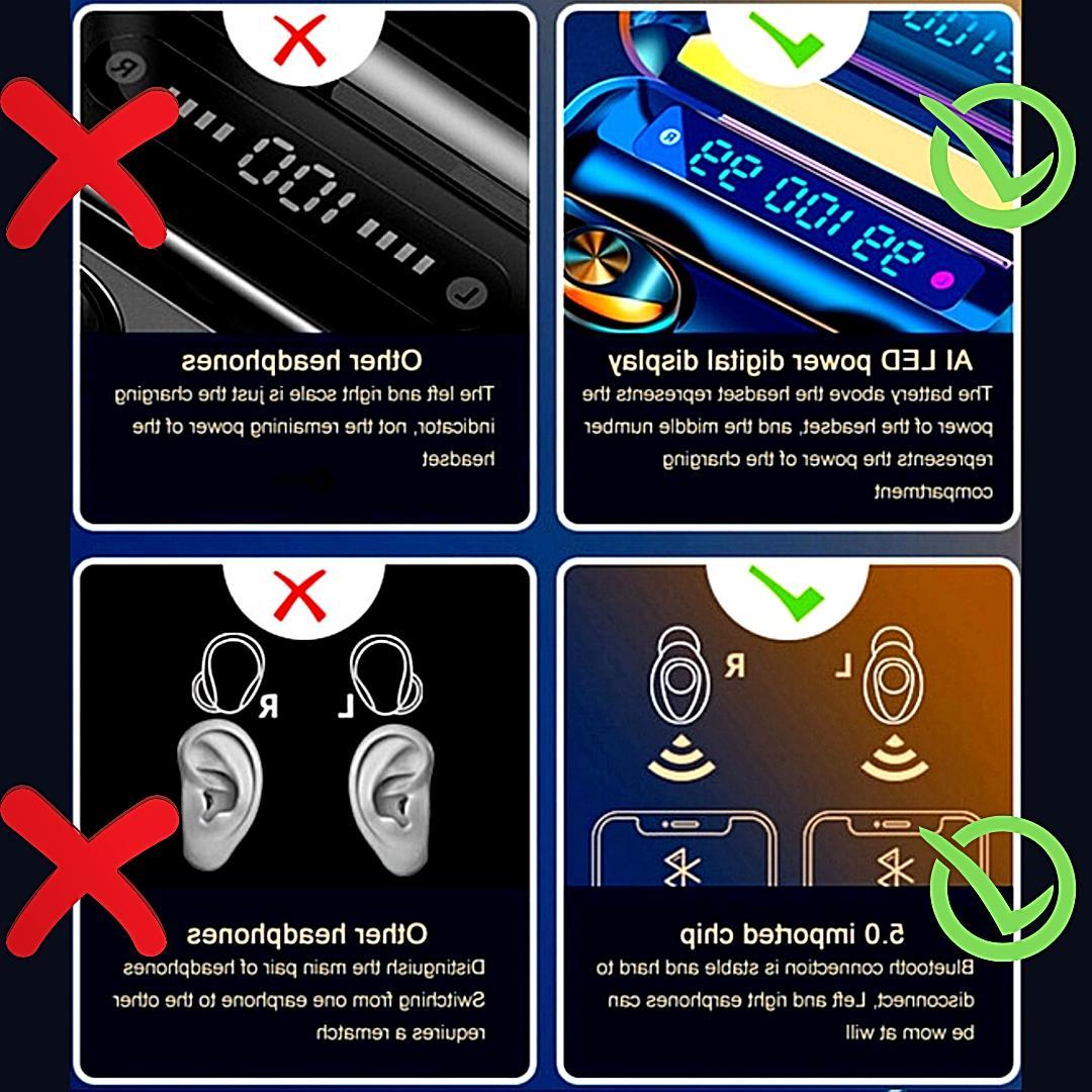 Bluetooth 5.0 noise Headset