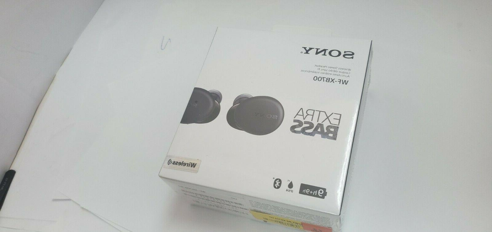 brand new wf xb700 true wireless earbuds