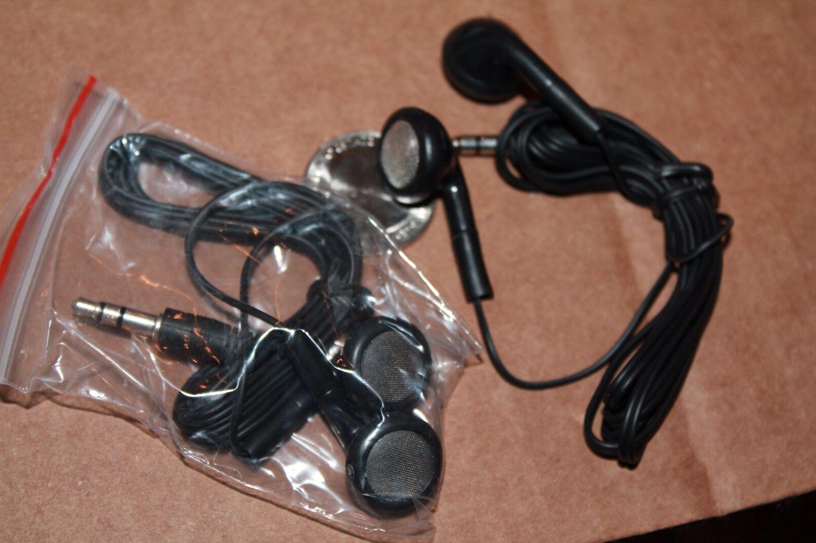 BULK Lot of BLACK / Earbuds Great
