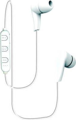 Coby Cebt404wht Bluetooth Sport Earbuds White