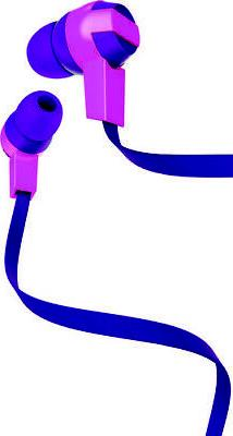 COBY CVE-151-PK Pink Coby Tangle Free Stereo Earbuds With Mi