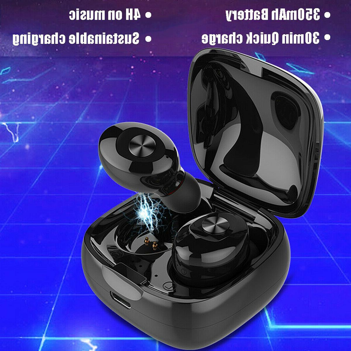 Dual Wireless bluetooth Earphone Earbuds IOS %