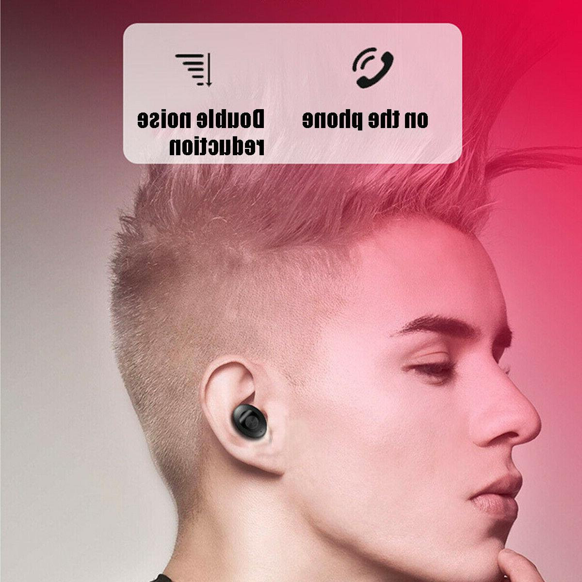 Dual Wireless Earphone Earbuds Android IOS Universal %