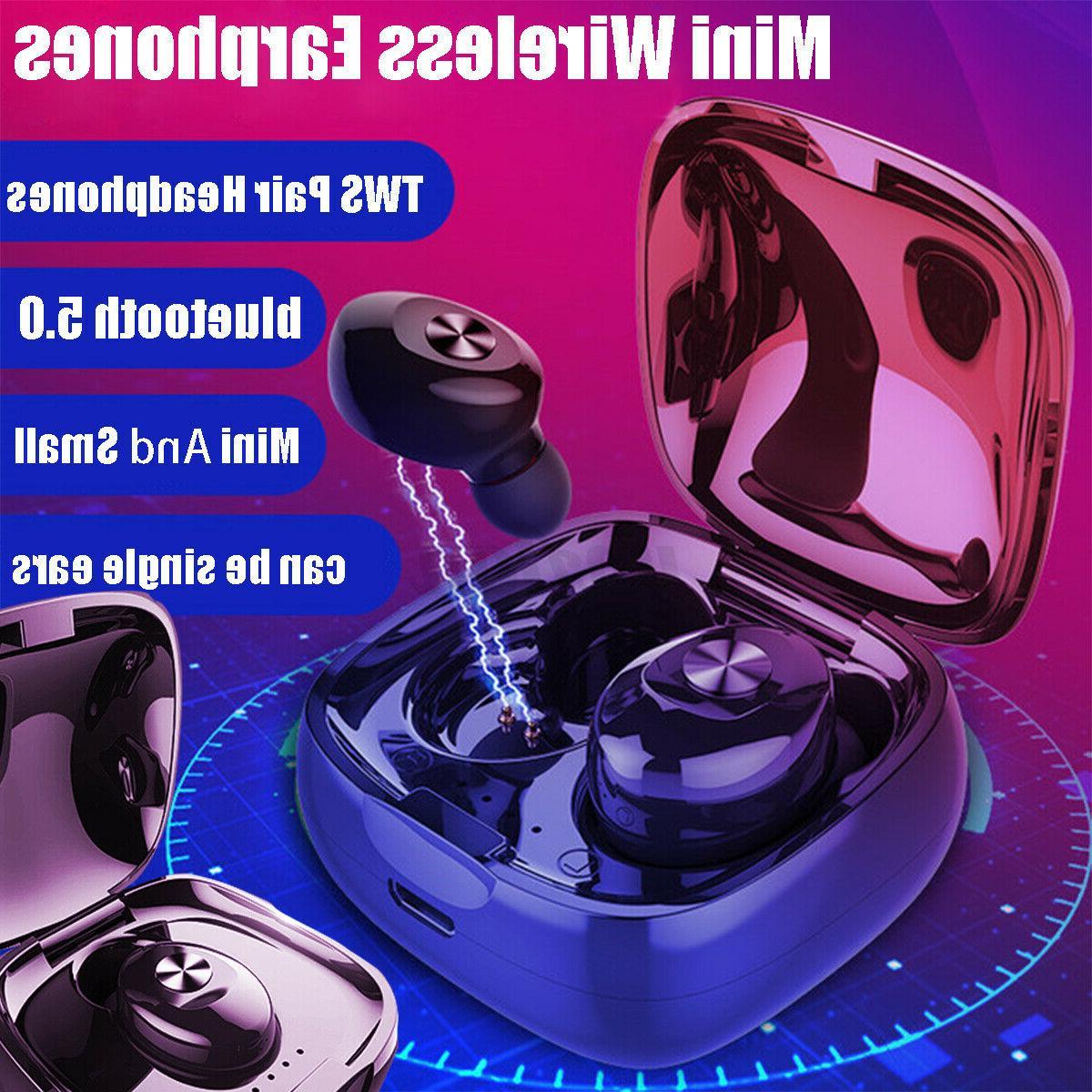 dual wireless bluetooth 5 0 earphone earbuds