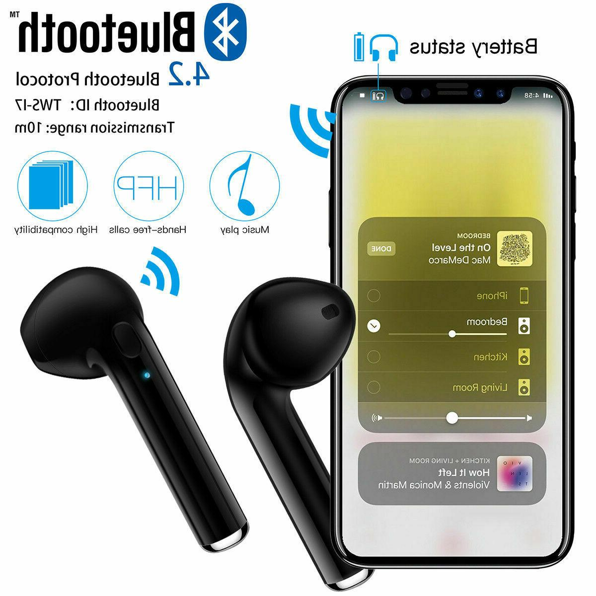Dual Bluetooth Earbuds For Android Universal