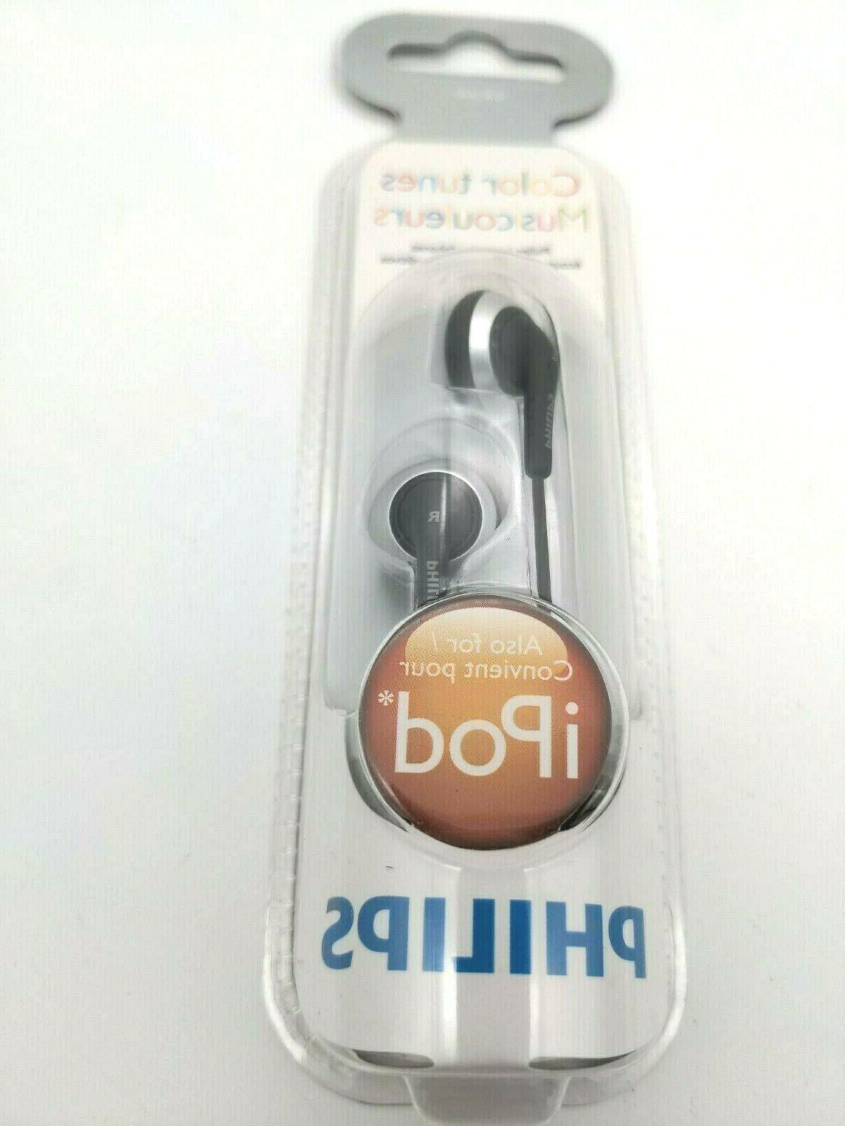 earbuds in ear headphone choice of silver