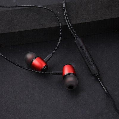 Earbuds In-Ear Sound Isolating Wired Headset Mic & Volume