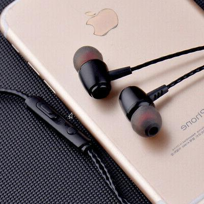Earbuds Sound Isolating Wired Headset with Mic &